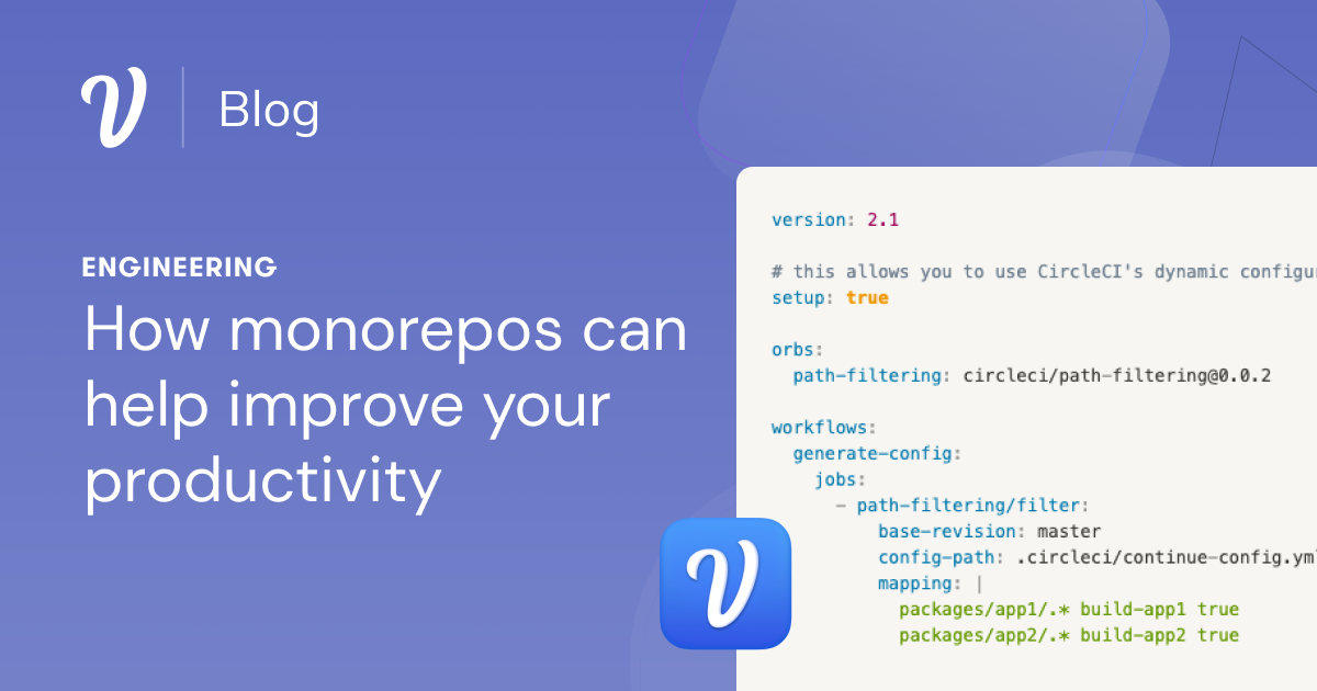 How monorepos can help improve your productivity