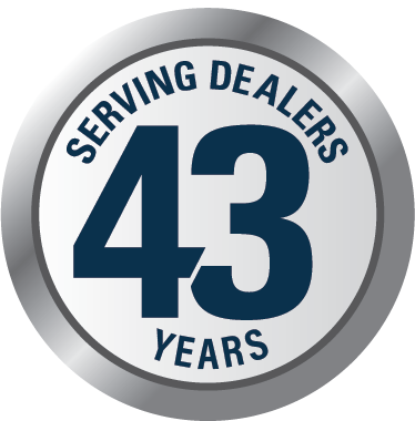 Serving Dealers 43 Years
