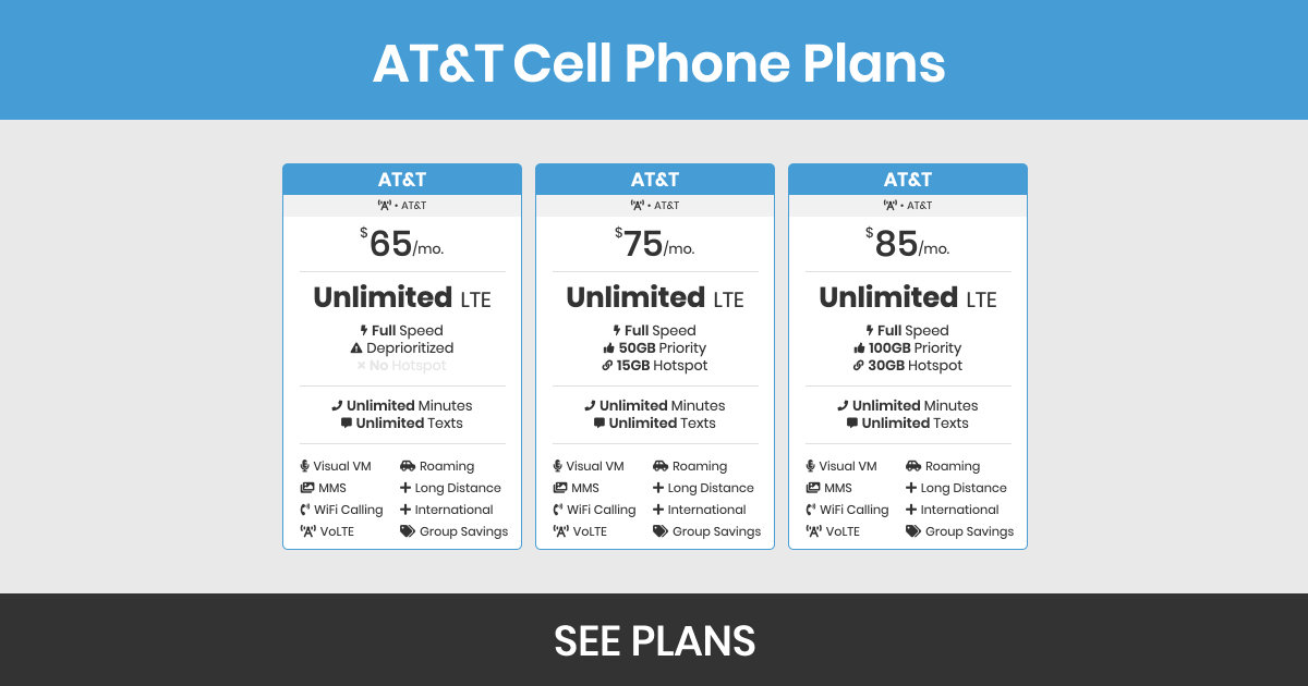At T Plans Prices Features Bestphoneplans