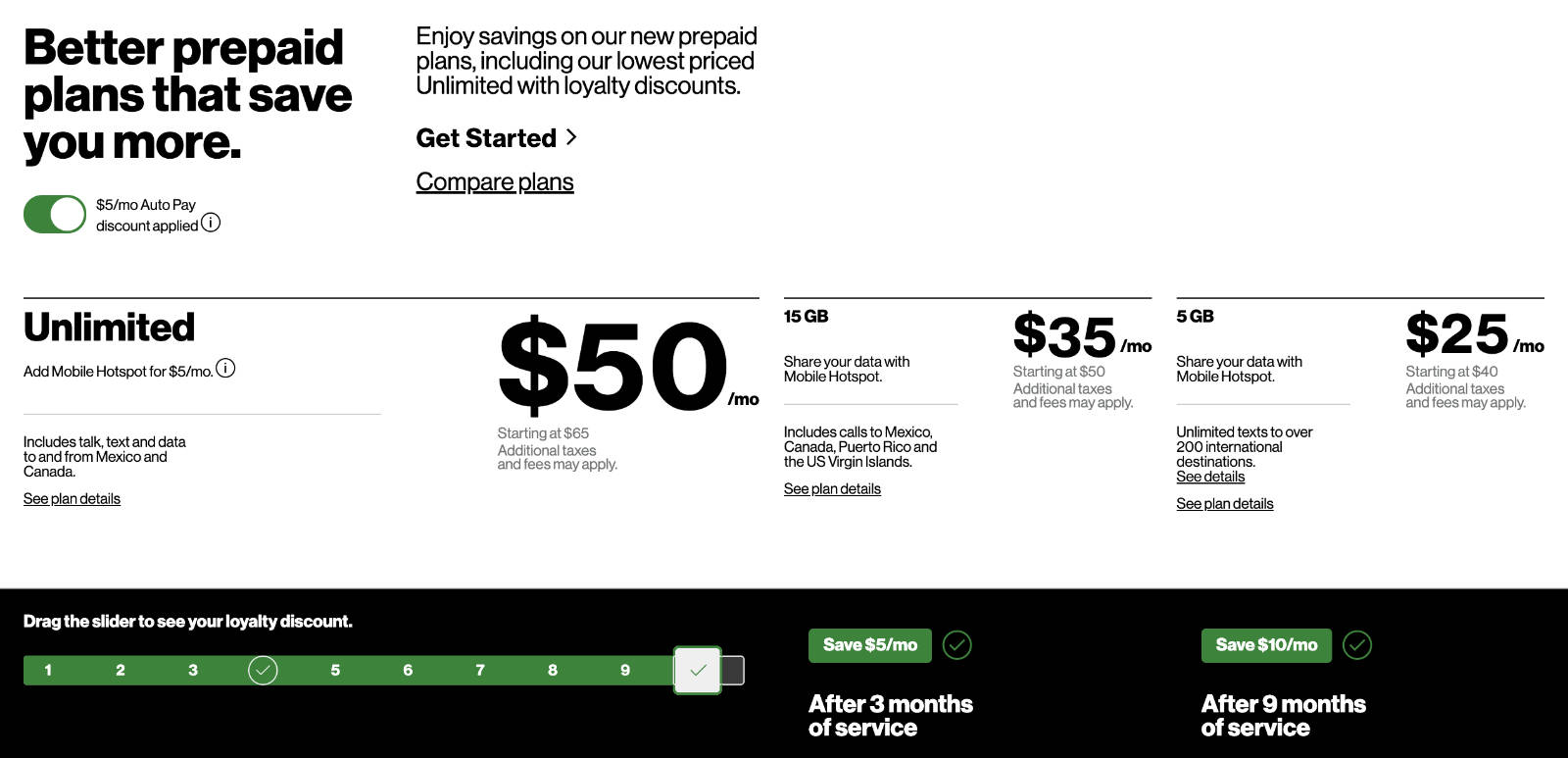 Verizon's new loyalty discount saves customers up to $10 per month after 9 months of service