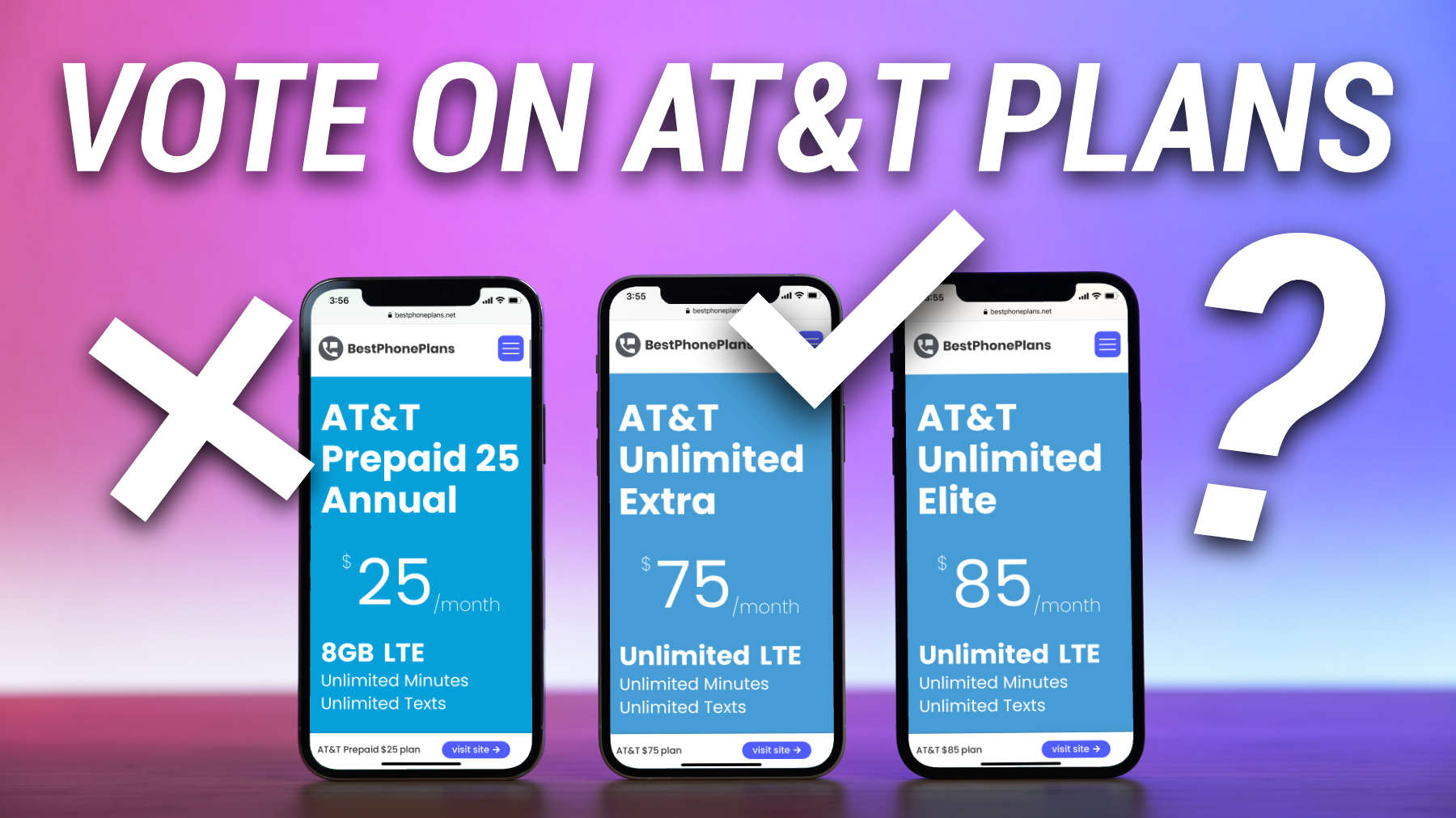 vote on the best at&t cell phone plans