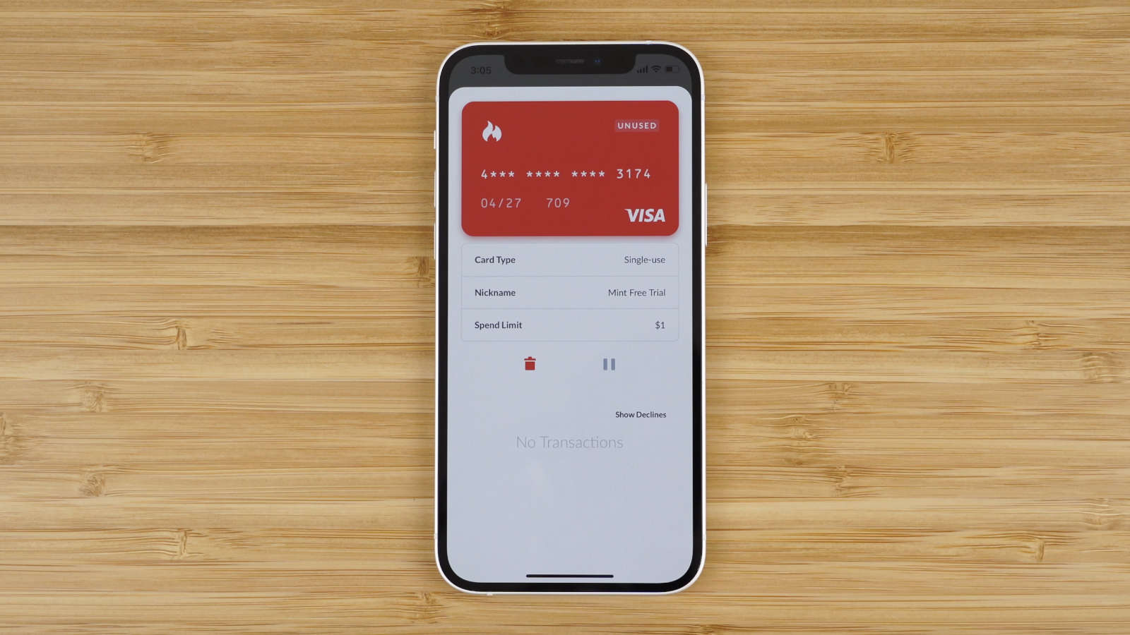use a virtual credit card from Privacy.com to help make sure you are not over charged