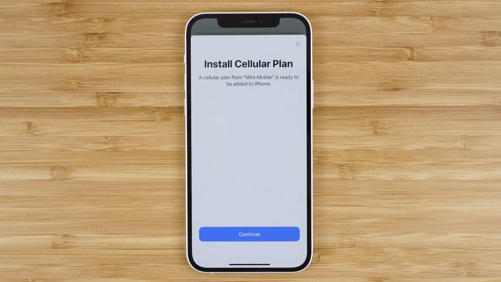 Install Mint Mobile cellular plan on iPhone using eSIM