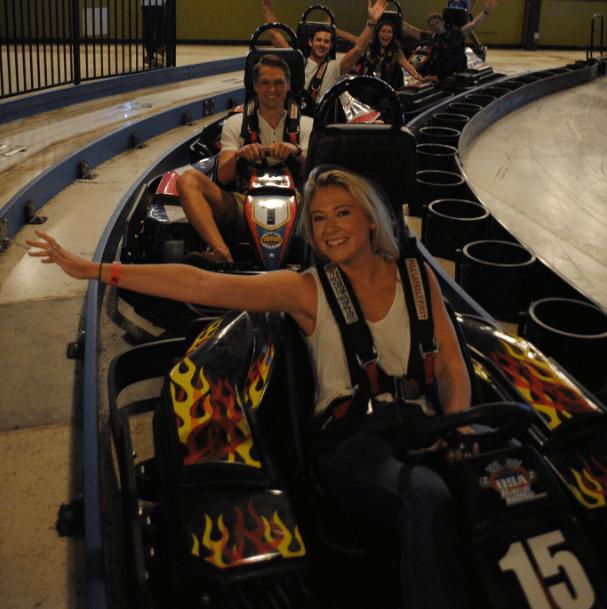 go karts at Big Thrill Factory