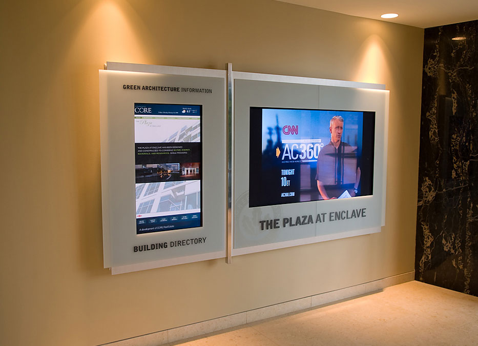 interactive digital signage - Intuiface software