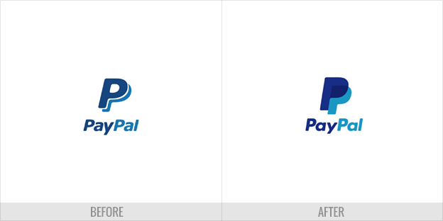 PayPal flat design logo