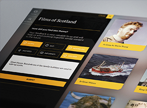 Bringing Scotland's Moving Image Archive to life through an interactive multi-touch experience.