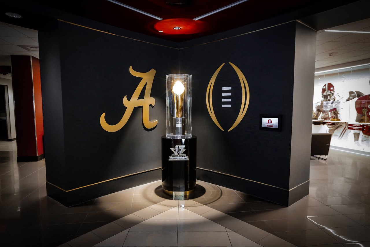 Intuiface Experiences at Alabama Football Hall of Champions