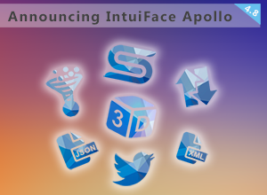IntuiFace Version 4.8 - aka IntuiFace Apollo - is out the door