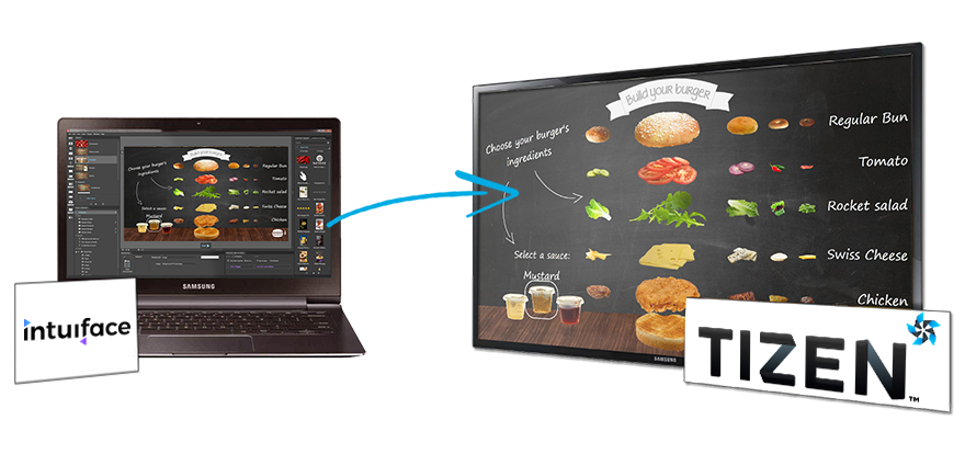Digital Signage Software for Samsung   Intuiface