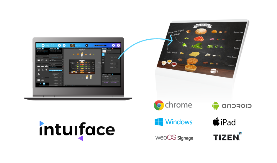 intuiface composer to intuiface player