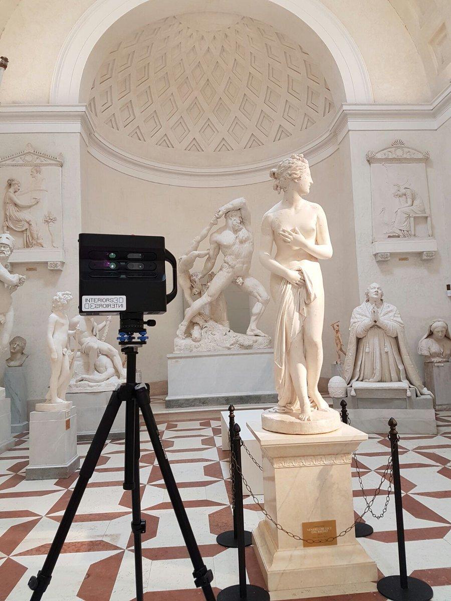Statues in Antonio Canova Museum