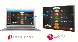 IntuiLab Releases First Multitouch-Capable Digital Signage Solution For LG's webOS Signage, Will Be Showcased At ISE 2016