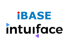 IBASE and Intuiface Partner to Provide Interactive Wall Solution