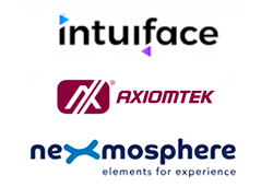 Axiomtek Has Joined Forces with Nexmosphere and Intuiface to Realize  Interactive In-store Shopping Experiences for Retail
