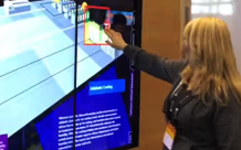 interactive touchscreen presentation