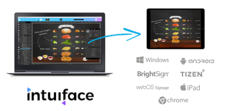 IntuiFace Digital Signage software