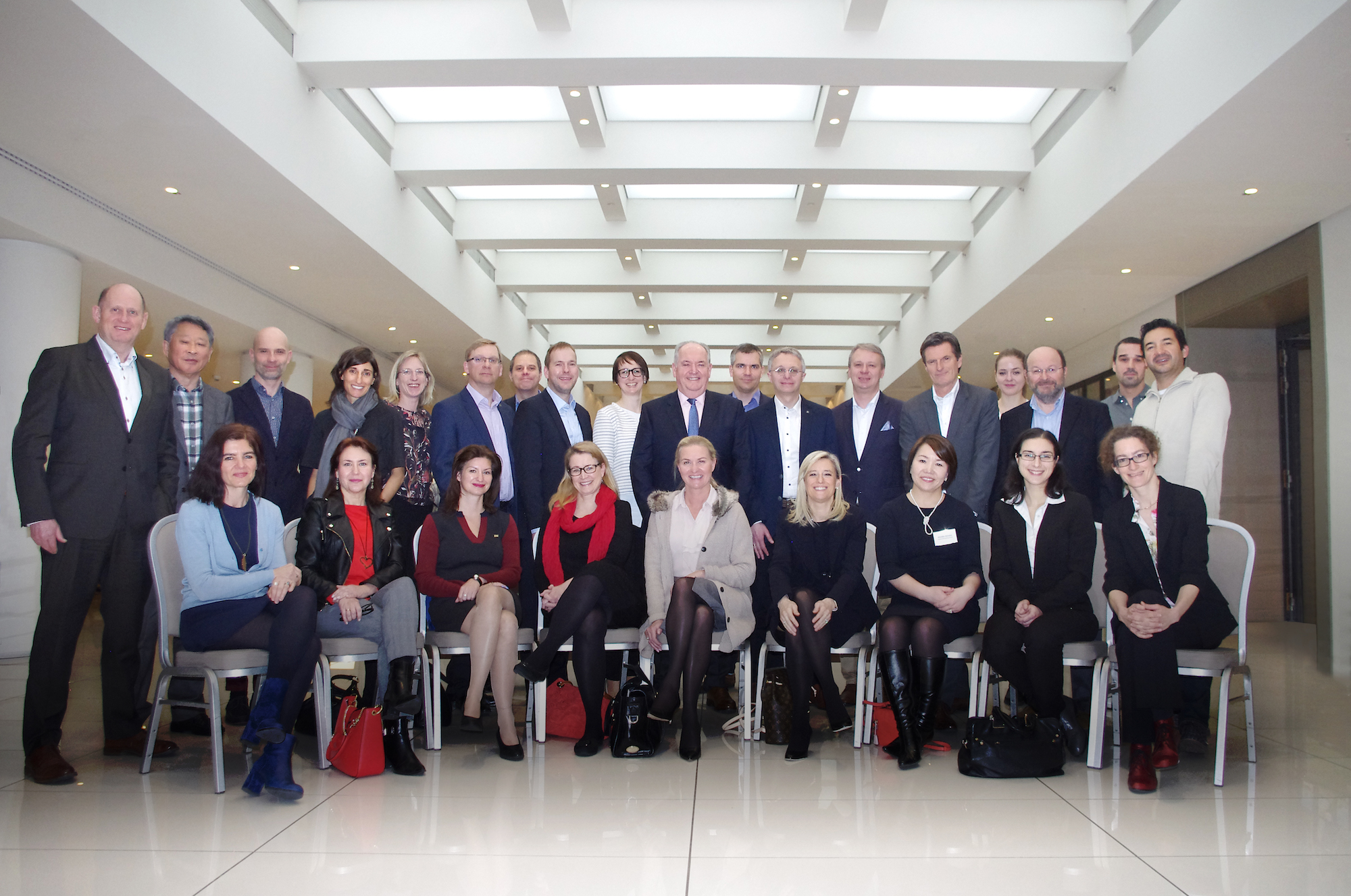 Group Photo of Eurocom Worldwide Delegates at the Annual Conference 2017 in Berlin