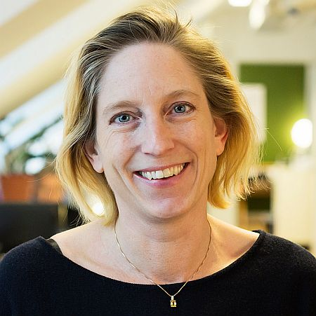 Photo of Madelene Kornfehl, COO of Cloudberry in Sweden