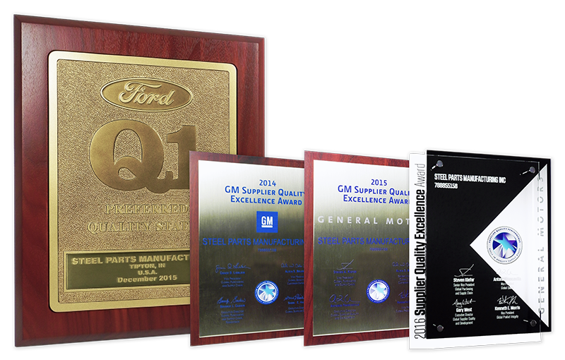 Steel Parts OE Quality Awards