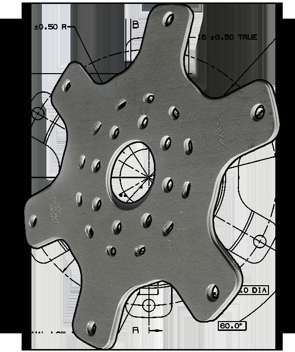 Steel Parts Torque Converter Print