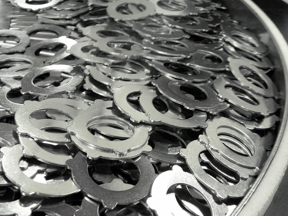 Steel Parts deburring