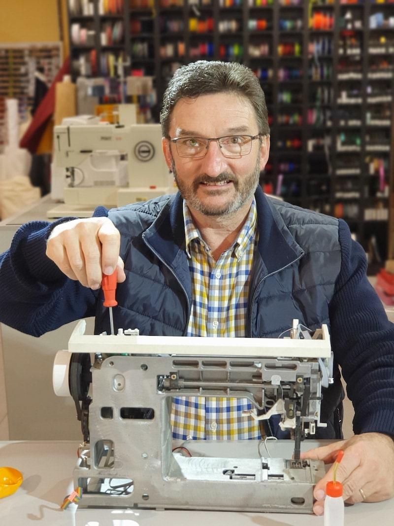 Nähmaschinen Reparatur für alle Marken und Jahrgänge