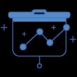 SaaS analytics icon - search engine optimisation services