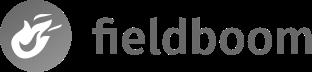 Fieldboom greyscale logo