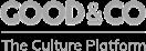 Good & Co greyscale logo