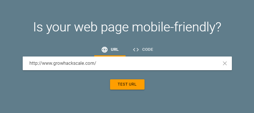 screenshot google mobile friendly test - mobile responsiveness