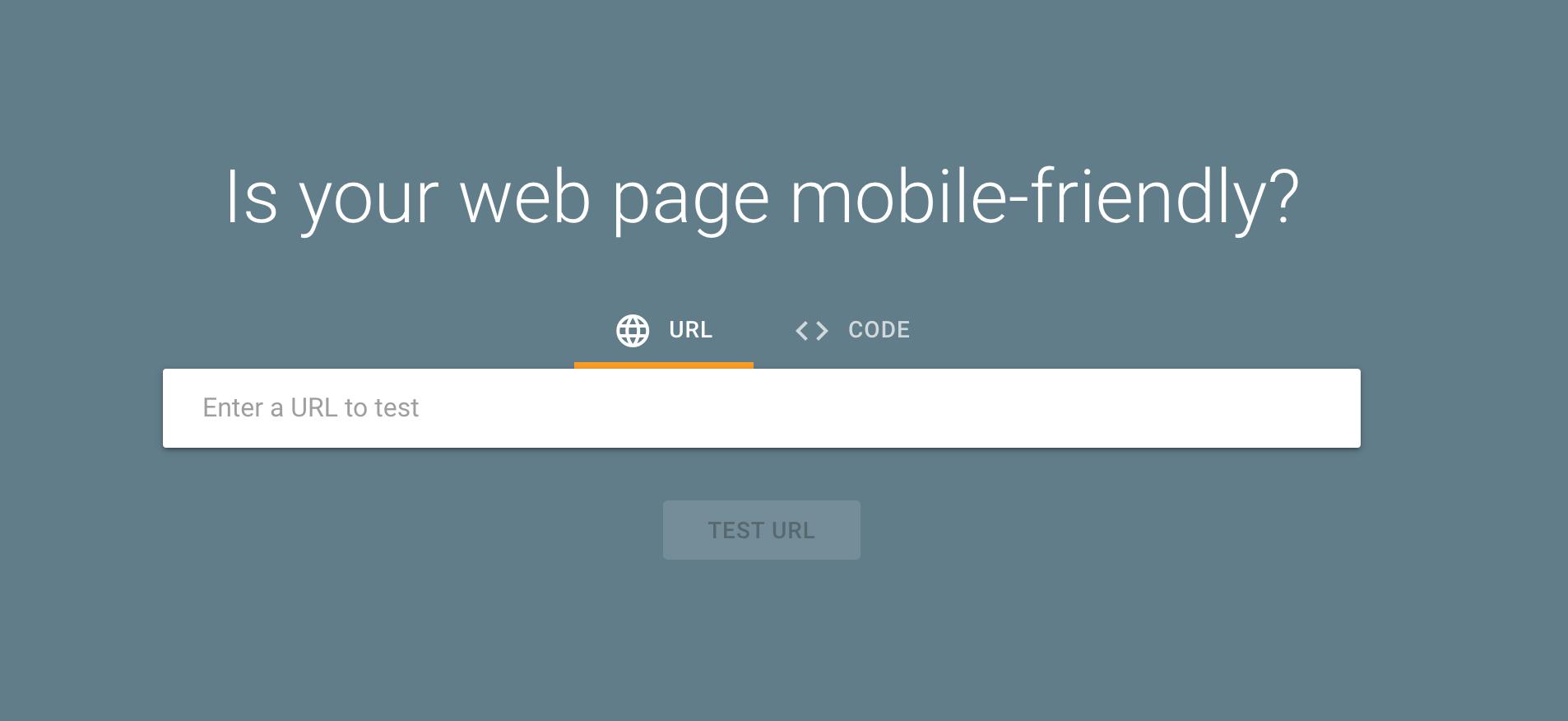 Google ranking signals: Google page speed insights
