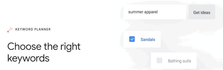 Google Keyword Planner Landing Page Snippet - Free Google SEO Tools