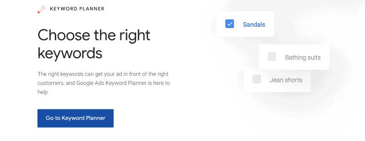 Google Keyword Planner - Best Free Keyword Research Tools