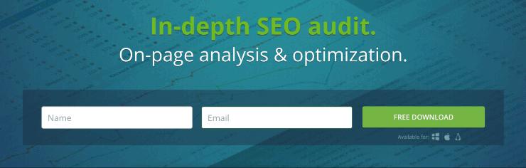 SEO PowerSuite Landing Page Snippet - Best SEO Audit Tools