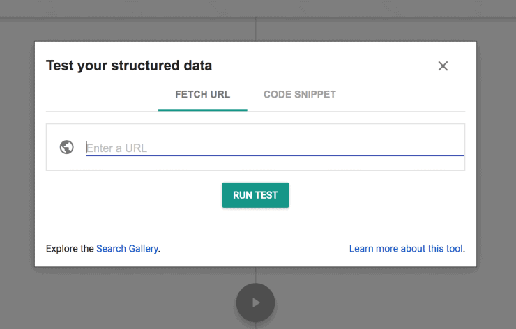 Google Structured Data Testing Tool Sample Dashboard - Best SEO Audit Tools