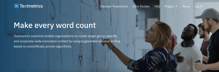 Textmetrics Landing Page Snippet - Best SEO Content Analysis Tools