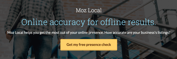 Moz Local Landing Page Snippet - Best Local SEO Tools