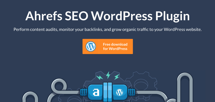 Ahrefs WordPress SEO Plugin Landing Page Snippet - Best SEO Analytics Tools
