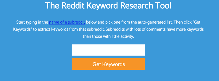 Keyworddit Landing Page Snippet - Best Free SEO Tools