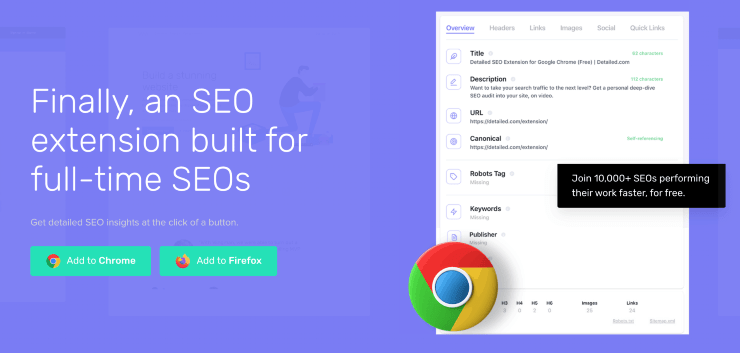 Detailed Landing Page Snippet - Best Free SEO Tools