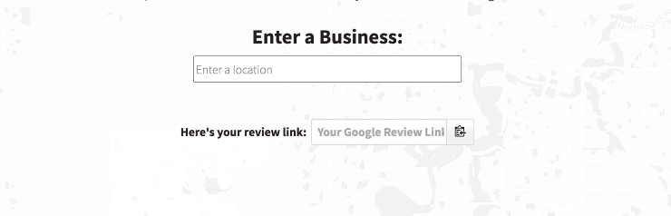 Google Review Link Generator Landing Page Snippet - Best Free SEO Tools