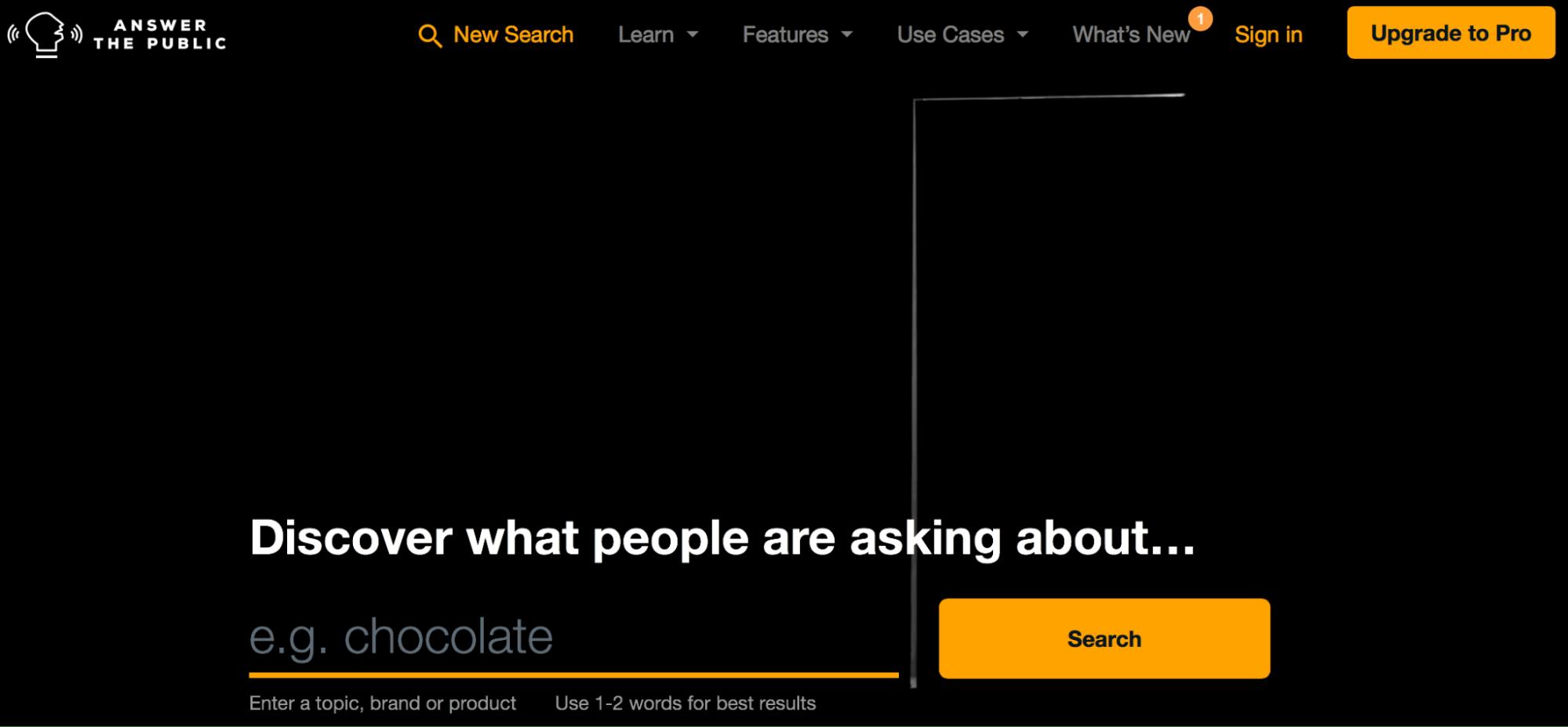 AnswerThePublic - Content Marketing