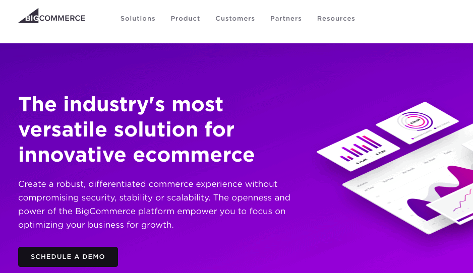 BigCommerce  Landing - E-commerce