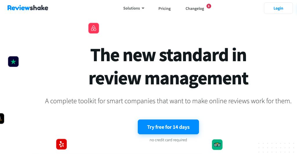Reviewshake - Brand Reputation Management