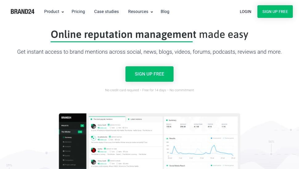Brand24 - Brand Reputation Management