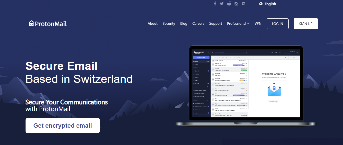 ProtonMail - Email Service Provider