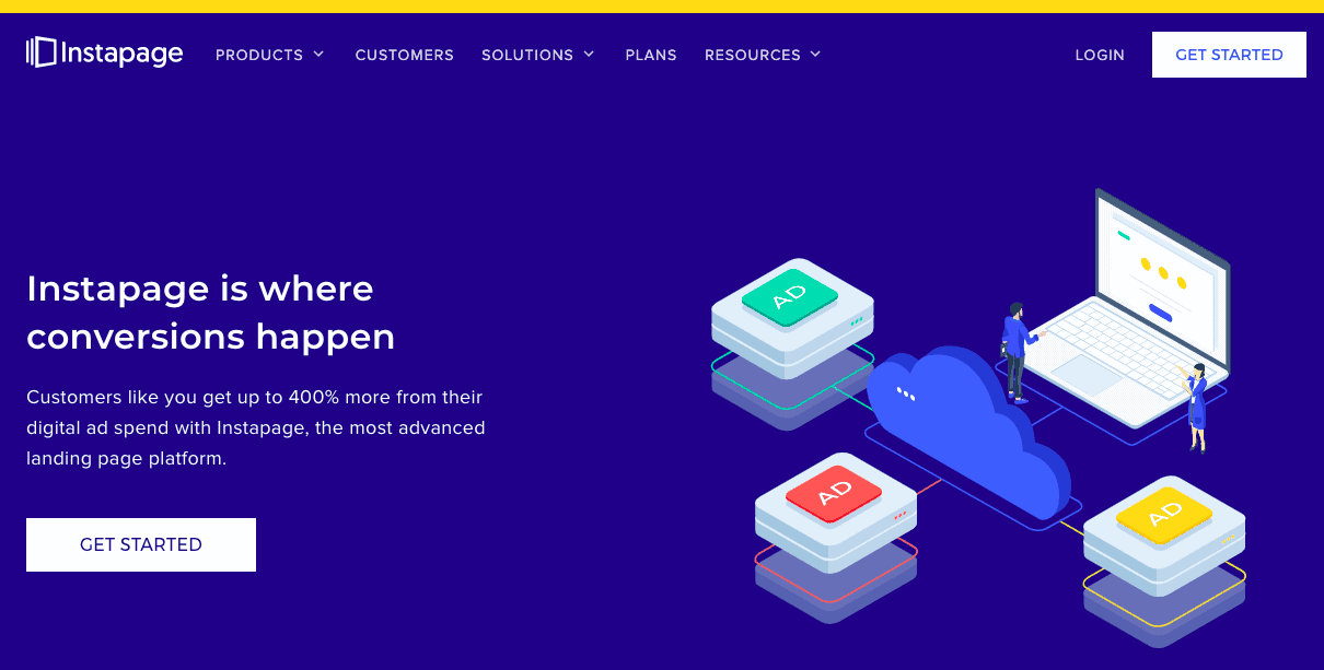 Instapage - Landing Page