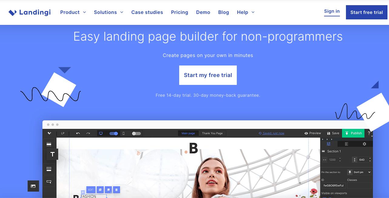 Landingi - Landing Page