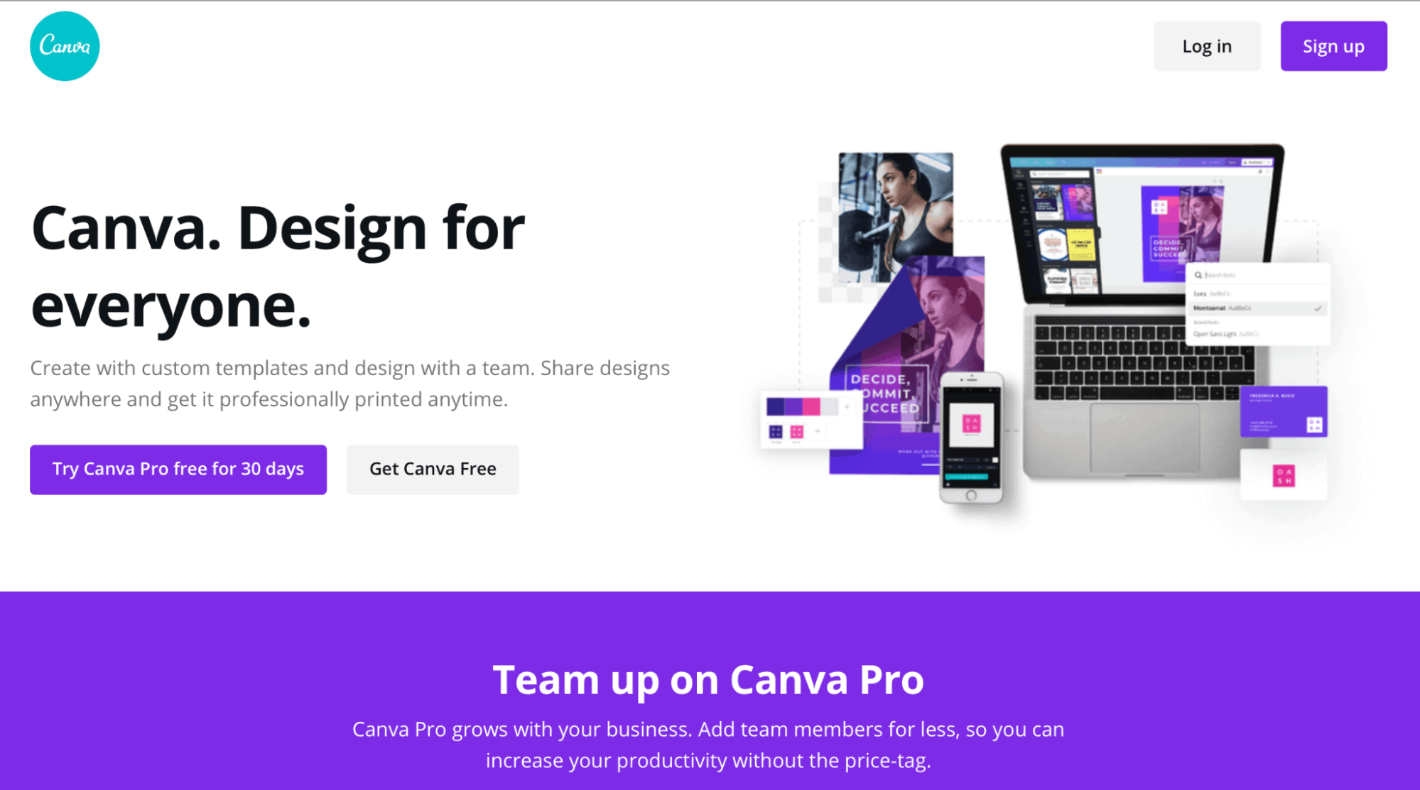 Canva Landing Page - Article Spinning